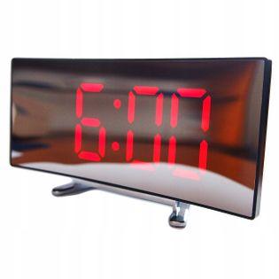 Cyfrowy budzik Zegar elektroniczny Duże Cyfry