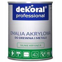 Dekoral Professional - Emalia Akrylowa Biała 5L