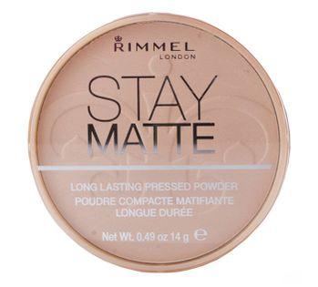 Rimmel London Stay Matte Puder 14g 002 Pink Blossom