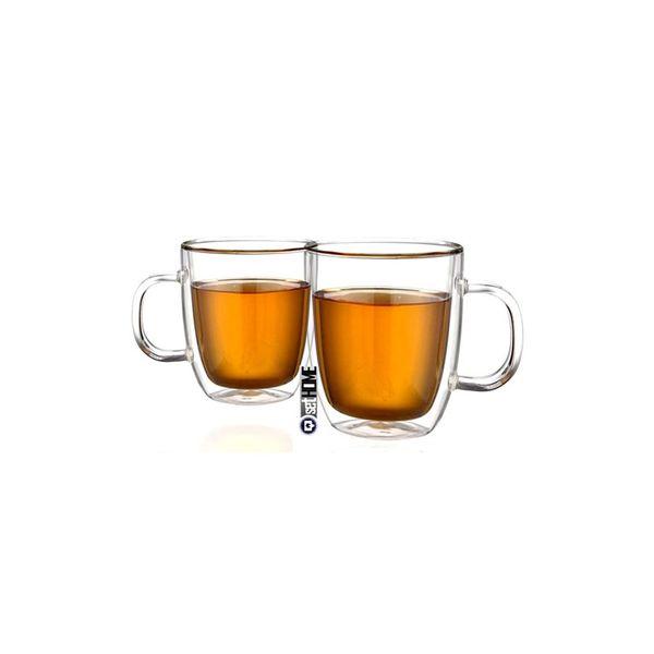 Szklanki termiczne do herbaty Extra Tea z uchem 480ml 2szt zdjęcie 1