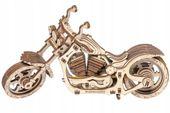 Motocykl Mechaniczne Puzzle 3D Drewniane Wooden City zdjęcie 5