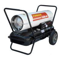 Nagrzewnica olejowa MARAX Firman F5000-DH 40,5kW z termostatem i wyświetlaczem temperatury wskaźnik paliwa dwa uchwyty transportowe