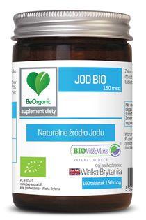 Jod BIO 150mcg x 100 tabletek Aliness