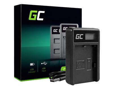 Ładowarka LC-E6 Green Cell ® do Canon LP-E6, EOS 70D, 5D Mark II/ III, 80D, 7D Mark II, 60D, 6D, 7D ADCB07