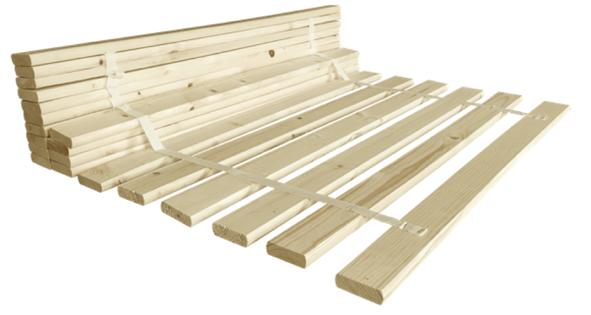 Stelaż wkład drewniany do łóżka 90x200 Solidny 20 listw