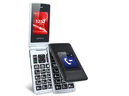 Myphone Tango Z Klapką 2,4'' 3G Senior Dwa Ekrany