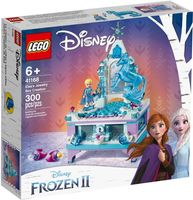 Lego Disney Szkatułka na biżuterię Elsy (Kraina Lodu 2)