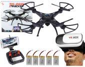 DRON TD06 z Kamerą WiFi + Okulary3D 5Aku 6Axis-Gyro Z282O