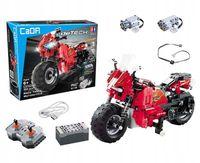 MOTOCYKL KLOCKI TECHNIC ZDALNIE STEROWANY C51024W