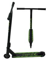 HULAJNOGA WYCZYNOWA X-RAPTOR ABEC-9 100kg 100mm T-BAR Kolor: Zielony