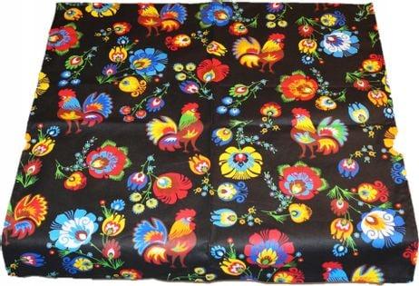 Obrus Bawełniany Folk Kaszubski 140x220 Bawełna