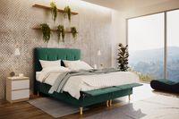 Skandynawskie łóżko RIO 200 X 200