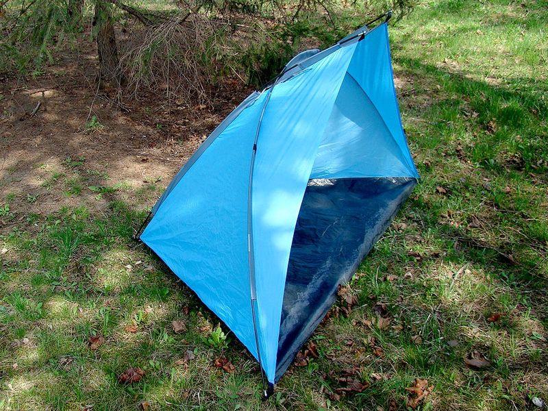 Duży namiot plażowy parawan wiatrochron + zestaw zdjęcie 2