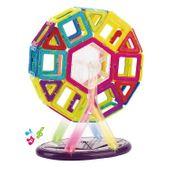 Edukacyjne klocki magnetyczne MAGICAL MAGNET no.703 52 elementy Y45