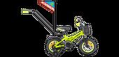 ROWER ROWEREK DZIECIĘCY BMX 12 KARBON NIKI LIMONKOWO-CZARNY 2-5L