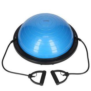 Piłka do balansowania niebieska śr 60cm max obciążenie 250 kg powłoka PVC ABI