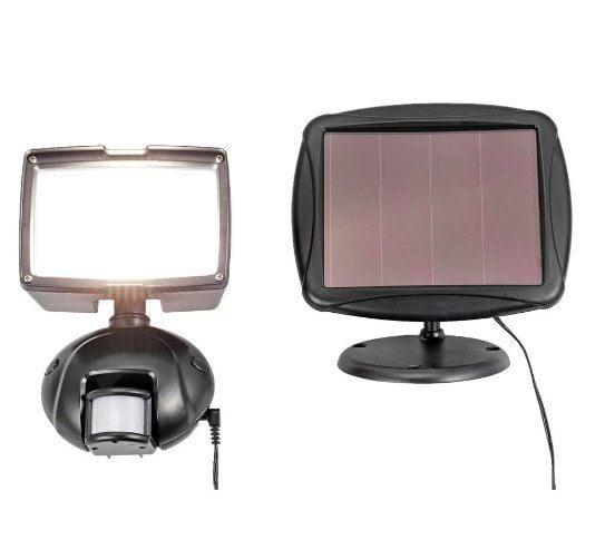 Lampa LED solarna IP44 cz. ruchu ścienna 1000lm 12W swe zdjęcie 2