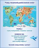 Mapa świata - edukacyjny tablet dla dzieci – język polski zdjęcie 2