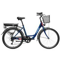 Hecht Prime Blue Rower Elektryczny Miejski Trekkingowy Rekreacyjny Damski Akumulatorowy - Oficjalny Dystrybutor - Autoryzowany Dealer Hecht
