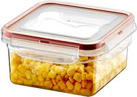 Pojemnik plastikowy kwadrat 680ml SAVER BOX HOB021401