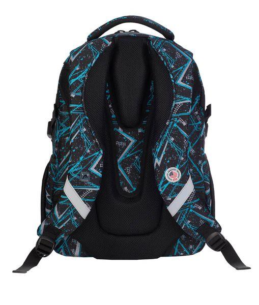 Plecak szkolny młodzieżowy Astra Head HD-256, czarno-niebieski na Arena.pl