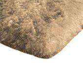 Mięciutki wysoki dywan pluszowy 140x200 capuccino