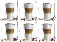 Szklanki Termiczne z Podwójną Ścianką Kawa Herbata 320ml Vialli Design