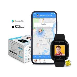 Locon Watch Lite — Wodoodporny Lokalizator GPS dla dziecka