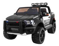 Hecht Ford Ranger Raptor Police Edition Black Samochód Terenowy Elektryczny Akumulatorowy Auto Jeździk Pojazd Zabawka Dla Dzieci Dystrybutor Autoryzowany Dealer Hecht