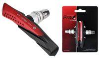 Klocki hamulcowe V-Brake imbus 72mm ProX czarno-czerwone