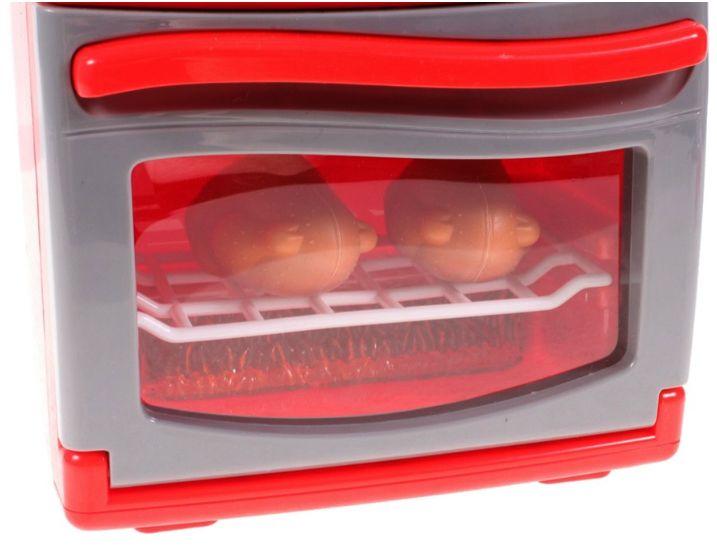Kuchenka dla dzieci Piekarnik LED Garnki Kurczak Ruszt Kuchnia U29 zdjęcie 4