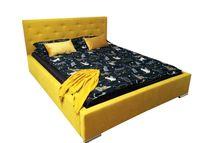 Łóżko tapicerowane Ester 160x200 Stelaż