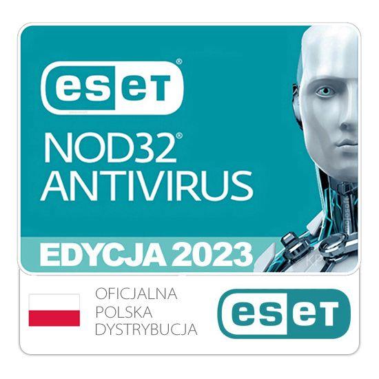 ESET NOD32 AntiVirus 1PC/2Lata Odnowienie na Arena.pl