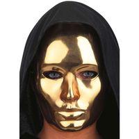 maska HALLOWEEN fantom złota PHANTOM horror