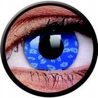 Crazy Lens - Blue Leopard, 2 szt.
