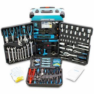 15421 zestaw komplet narzedzi 1200 el w walizce narzędziowa ze stali