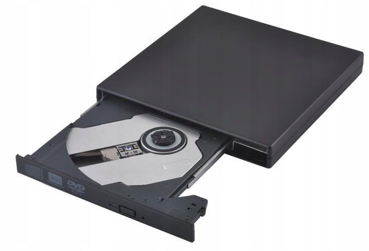 Napęd zewnętrzny CD/DVD Nagrywarka COMBO SLIM USB zdjęcie 2