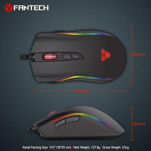 Mysz myszka dla gracza podświetlana 4800DPI Fantech X4 TITAN zdjęcie 9