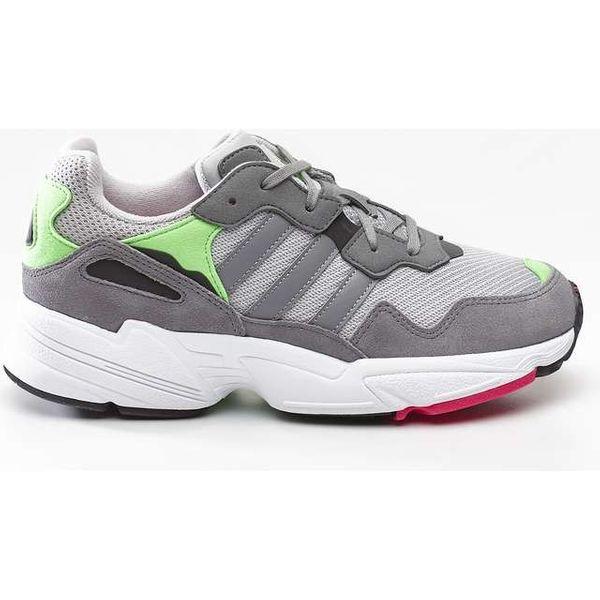 adidas YUNG 96 J 802 GREY TWO GREY THREE SHOCK PINK 37 13