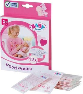 Zapf Baby Born Pokarm Dla Lalki 12 szt.