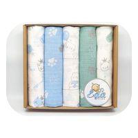 Ega pudełko eco tetra 1624 zestaw 3 pieluszek na prezent chłopiec,