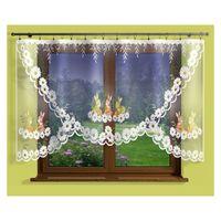Firanka Zajączki 300 x 150 cm - Pokój dziecięcy | WN471Z 150