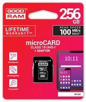 GOODRAM Karta microSD 256GB CL10 UHS I + adapter