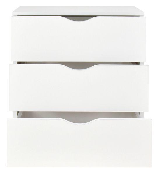 Biała komoda - 3 szuflady na Arena.pl