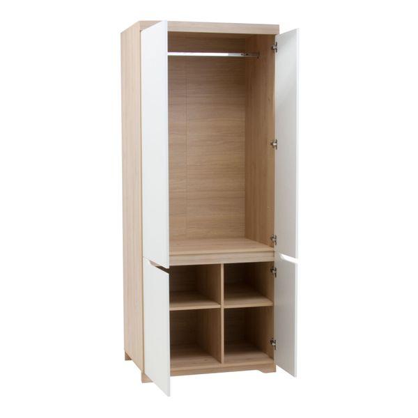 Zestaw stół i cztery krzesła do jadalni komoda witryny meble pokojowe zdjęcie 10