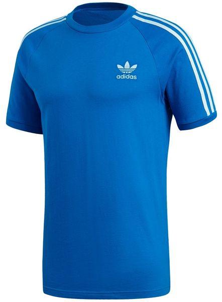 Koszulka adidas 3 Stripes Tee niebieska DH5805 L zdjęcie 1