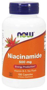 Now - Niacin 500 mg - 100 tab