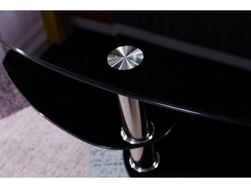 Stolik kawowy ława szklana stoliki szklane salon 110x60 blat górny 8mm zdjęcie 9