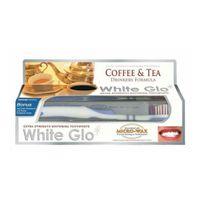 White Glo Coffee & Tea Drinkers Formula Wybielająca Pasta Do Zębów Dla Osób Regularnie Pijących Kawę I Herbatę 100Ml + Szczoteczka