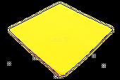 Chustka bandamka gładka żółta